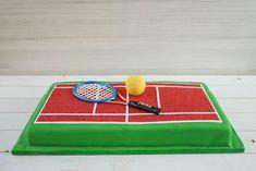 Tennis Cupcakes, Tennis Cake, Sally Backt, 8th Birthday, Birthday Cakes, Finger Foods, Fondant, Cake Decorating, Vox