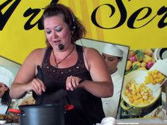 San Diego Foodies Member Malissa Callahan gets to cook on stage with Chef Marian at The Fair (Del Mar Fairgrounds)! See the story on ChefMarian.com!