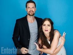 Shane West and Janet Montgomery, 'Salem' #EWComicCon   Image Credit: Michael Muller for EW