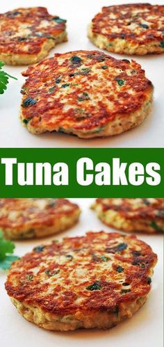 Tuna cakes are easy, affordable and nutritious. They are substantial and filling… Tuna cakes are easy, affordable and nutritious. They are substantial and filling. Tuna cakes are the perfect meatless weeknight dinner! Sushi Recipes, Seafood Recipes, Mexican Food Recipes, Cooking Recipes, Canned Tuna Recipes, Cooking Bacon, Easy Tuna Recipes, Cooking Kale, Kid Recipes