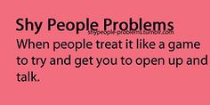 Shy gal on Pinterest | Shy People Problems, Social Anxiety ...