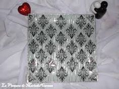 Resultado de imagen de zapatilla trabajo hecho con servilletas
