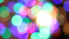Эффект боке Рождественские огни — Стоковый видеоролик © roman.kalugin #134104982