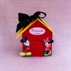 Lembrancinha personalizada casa Minnie. Pode ser feito em outros temas. Marshmallow incluso no valor.