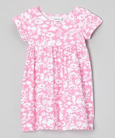 Loving this Pink Fantasea Reef Babydoll Dress - Toddler on #zulily! #zulilyfinds