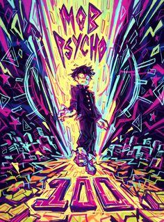 One Punch Man, Tokyo Ghoul, T Shirt Manga, Mob Psycho 100 Wallpaper, Mob Psycho 100 Anime, Mob Physco 100, Cool Anime Wallpapers, Manga Covers, Anime Demon