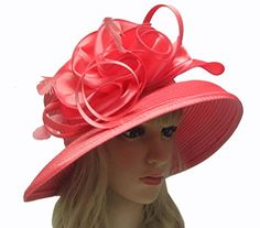 2015 New Satin Church Hats Formal Party Hats (pink) Eden Hats http://www.amazon.com/dp/B00SMKC9MC/ref=cm_sw_r_pi_dp_qkXkvb12D6PTJ
