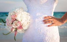 destin beach wedding bridal flowers