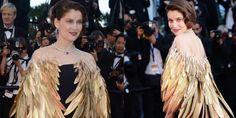 Cannes: Laetitia Casta, la bellissima compagna di Stefano Accorsi, e icona di stile, la scorsa domenica ha stregato tutti sulla Croisette,
