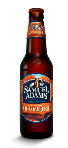 Sam Adams Octoberfest...My favorite fall beer