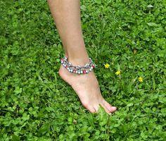 Pulsera de tobillo para las mujeres pie joyería por LadyBreeze