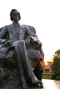 jan kucz, pomnik fryderyka chopina we wrocławiu, 2004