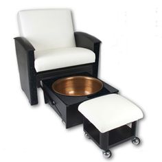"""Spa Pedicure Chair. Awesome. I'm sure it's A LOT cheaper than the """"throne"""" and doesn't need a water source."""