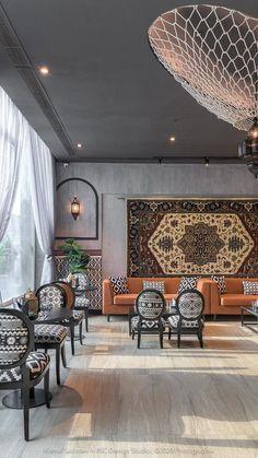 Cafe Interior Design, Cafe Design, Interior Architecture, Interior And Exterior, House Design, Interior Designing, Interior Ideas, Bedroom False Ceiling Design, Interiores Design