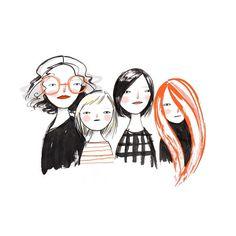 generations of hair | @mer_mag