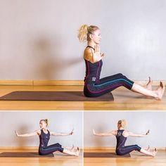 Pilates : Pompe push up Twist Yoga, Le Pilates, Push Up, Gym Douce, Bodybuilding, Exercise, Poses, Workout, Plein Air