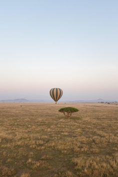 four seasons serengeti hot air balloon ride