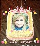 edible cake photos. Any image or photo can be put onto icing for you to create the best cake ever!