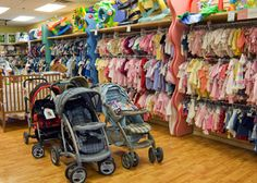 Shelves high for larger baby ideas...Baby Consignment Store in Spring, TX - Sell & Buy