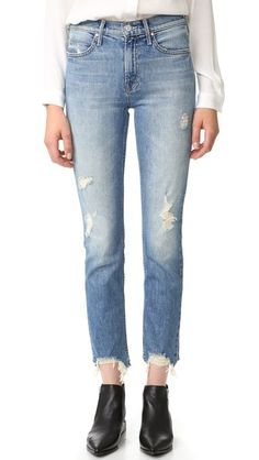 yes. with some heels.   MOTHER The Flirt Fray Rigid Jeans $265