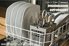 How to make your own dishwasher detergent!