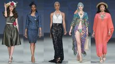 Bohimi fashion runway show at the Style Fashion Week April 2018 in Palm Springs. Fashion Runway Show, Fashion Week 2018, Fashion Events, School Fashion, Kimono Top, Cover Up, Tops, Dresses, Women