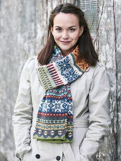 Elsker du at strikke mønsterstrik? Så er denne strikkeopskrift på dette superflotte, ternet halstørklæde lige noget for dig! Tørklædet strikkes som et rør, så det bliver dobbelt til sidst.
