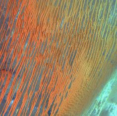 Sand Dunes At Sunset Are Rainbow Lines Of Loveliness | #Algeria