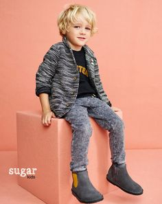 "David from Sugar Kids for Mango ""Stardust dreamers"""