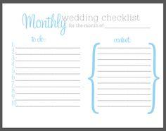 Wedding Checklist  Very Good Pg   KerstinS Wedding