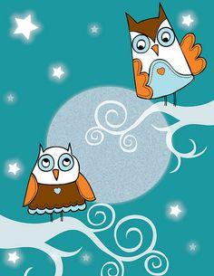 owls by Jenn Goss