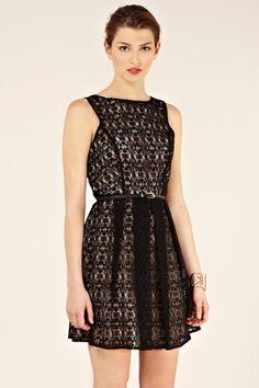 Oasis - Lace Cut Out Dress
