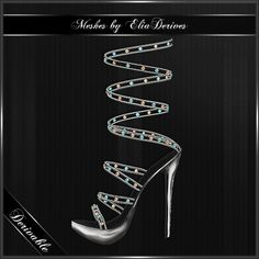 In the EliaDerives shop on IMVU you can find these Bohemia Sandals, All 3D meshed, already textured for wearing fun, derivable with easy mapping and textures provided.