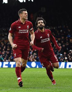 Milner brings win over Fulham from the spot, FT Liverpool Football Club, Liverpool Fc, Premier League Soccer, Red Day, Fulham, My Passion, Sports, Mohamed Salah, Thailand
