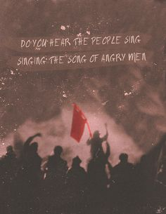 it is the music of a people who will not be slaves again