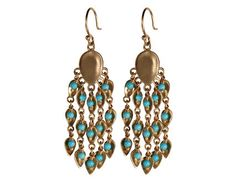 10K Gold Large Long Bindhi Earring looovvveee