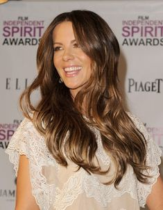 Kate Beckinsale' Beautiful Long Layered Hairstyles | Popular Haircuts