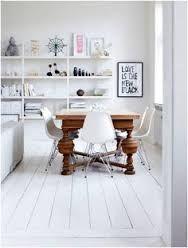 Afbeeldingsresultaat voor vloer wit verven