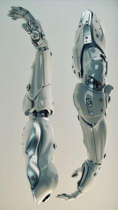 机械设计与人体结构的随想-madlineCG艺术实验室的微信-车夫网
