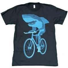 Reef would love a Shark On A Bike Tee