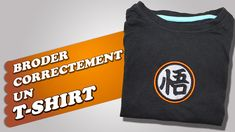 Broder correctement un T-Shirt 👕 Bff Shirts, Couple Shirts, Embroidery Designs, Embroidery Stitches, Dbz, Blackwork, Shirt Blouses, T Shirt, Couture