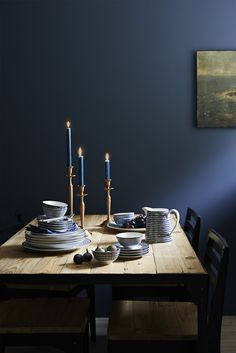 Walls in stiffkey blue by farrow and ball