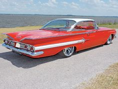 1960 Chevy Impala the car I was born in 1960 Chevy Impala, Chevrolet Impala, Chevrolet Malibu, American Classic Cars, American Muscle Cars, Vintage Cars, Antique Cars, Us Cars, Custom Cars