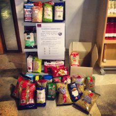 Campaña de recogida de alimentos Biblioteca General UCLM Toledo