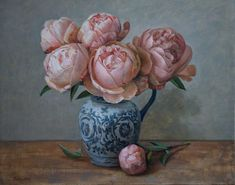 Art Studies, Impressionism, Art For Sale, Still Life, Peonies, Original Artwork, Watercolor, Gallery, Artist