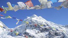 's Werelds hoogste berg; de Mount Everest ; Nepal