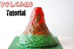 this is for a volcano...we have to build a model of Mars.  possible idea using salt dough.