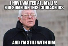 Bernie Sanders will have enormous political clout after the election regardless who wins, think about that.