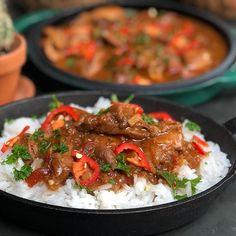 trassi Archieven - Familie over de kook Slow Cooker Recepies, Healthy Slow Cooker, Indian Food Recipes, Asian Recipes, Lunch Recipes, Healthy Recipes, Indonesian Food, No Cook Meals, Food Hacks
