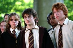 HARRY POTTER AND THE PRISONER OF AZKABAN, Emma Watson, Daniel Radcliffe, Rupert Grint, 2004, (c) Warner Brothers